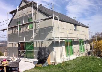 Réalisation façades extérieures - Avant